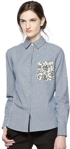 Thakoon for Kohl's Print-Pocket Shirt