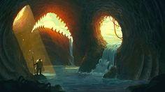 Fish Cavern on Behance