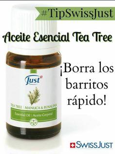 El aceite esencial d Tea Tree Combate esos barritos tan molestos