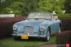 1955 Aston Martin DB/4 Drophead Coupe.