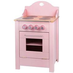 Met dit houten fornuis van Moulin Roty maak je het lekkerste eten klaar voor je pop! Het is een prachtig roze fornuis voor in je droomkeuken.Het fornuis heeft achteraan een mooie opstaande rand, 4 kookplaten en een oven, waarvan de deur open kan geklapt worden en weer gesloten door middel van een magneet.Het fornuis is in de fabriek gemonteerd waardoor deze extra stevig is.