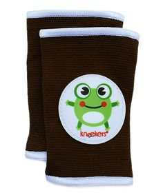 Toffee Hoppy Frog Kneekers   zulily