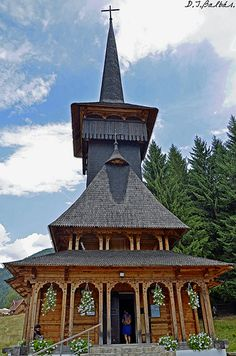 Wooden church - Poiana Brasov #Romania