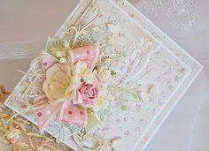Miszmasz papierowy: Elegancka kartka ślubna