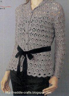 بلوزات كروشيه بالباترون - crocher bluses with pattern ~ شغل ابره  CROCHET INSPIRATION