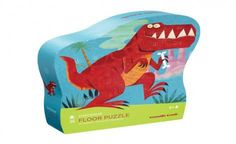 Dinosaur Shaped Floor Puzzle by Crocodile Creek