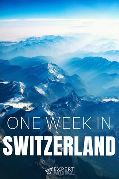 Expert World Travel Heading to Switzerland but not sure what to see or where to stay? This ideal one week itinerary includes all the highlights and enough flexibility for anyone. Switzerland Itinerary, Switzerland Vacation, Visit Switzerland, Switzerland Summer, Places In Switzerland, Swiss Travel, European Travel, Zermatt, Best Places To Travel
