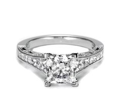 not split shank but pretty......Tacori Engagement Rings, Diamond Engagement Rings - HT2510PR12X