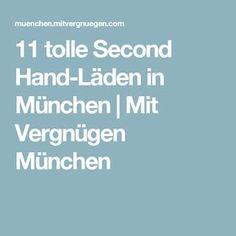 11 tolle Second Hand-Läden in München | Mit Vergnügen München