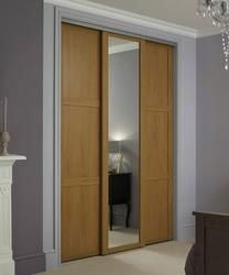 Shaker Panel & Mirror Door Oak