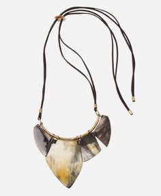 Imperial Horn Necklace - Noonday Collection do excited to get this baby :-)