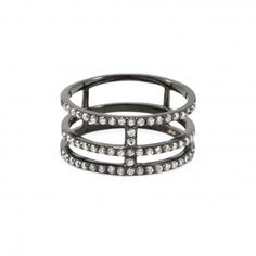 Pave Cage Ring, Alexandra Beth $68