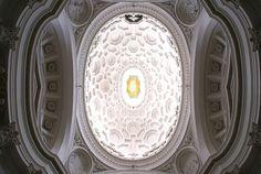 Rom, Via delle Quattro Fontane, San Carlo alle Quattro Fontane, Kuppel (dome)