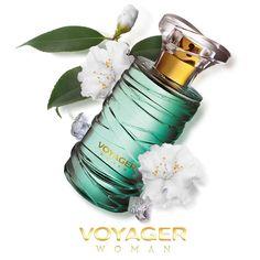 ¡Floral y tropical, transpórtate a un paisaje exótico y libera tu espíritu aventurero con Voyager Woman! #Fragancia #oriflamemx