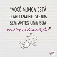 Amanhã é dia de fazer as unhas! Tomorrow is the day to make nails! Fall Manicure, Manicure Y Pedicure, Manicure At Home, Fish Nails, Tomorrow Is The Day, Exercise To Reduce Thighs, Nail Salon Design, Photo Finder, Diamond Nails