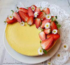 Az áfonya mámora: New York cheesecake II. Panna Cotta, Nom Nom, Cheesecake, Dessert Recipes, Pudding, Ethnic Recipes, Drinks, Food, Drinking