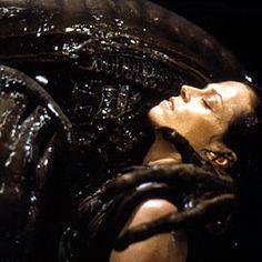 Alien: A Film Franchise Based Entirely on Rape Sci Fi Horror, Horror Films, Horror Art, Alien Resurrection, Fiction Film, Science Fiction, Alien 1979, Alien Queen, Sigourney Weaver