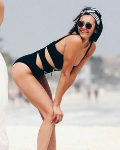 I want to bend her over Surf Girls, Beach Girls, Nina Dovrev, Nina Dobrev Style, Nikolina Konstantinova Dobreva, Swimsuits, Swimwear, Hollywood Actresses, Beautiful Actresses