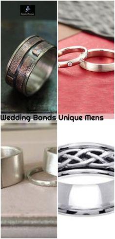 Wedding Bands Unique Mens , Wedding Bands Unique Mens... ,  #bands #mens #unique #Wedding Unique Wedding Bands, Wedding Men, Wedding Rings, Everyday Look, Engagement Rings, Stones, Handsome, Platinum Wedding, Stainless Steel