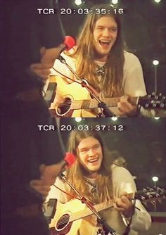Shannon Hoon ..hadn't see him smile in a little while... More