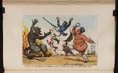 30 November 1813,Bodleian Libraries,Plump to the devil we boldly kick'd both Nap and his partner Joe.Caricature of Napoleon I. (British political cartoon)