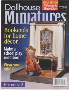 Dollhouse Miniatures on sale $1.99Subject: Antiques & CollectiblesYear Published: 2000Publication Name: Dollhouse MiniaturesLanguage:......