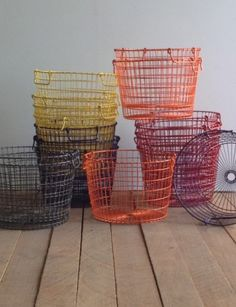 potato basket - now in colors