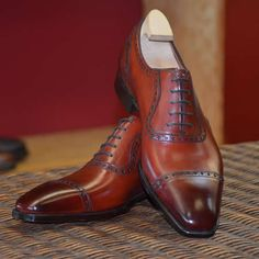St JamesII Vintage Cherry TG73 #GazianoGirling #AHOneShoes #HandmadeShoes #MensShoes #MensFashion If you have any questions or comments we'd love to help. Contact AH One Shoes at 703-451-0540 or ahoneshoes@aol.com