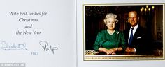 Christmas cards reveal poignant moments and turbulent times throughout the life of the Royal family | Daily Mail Online