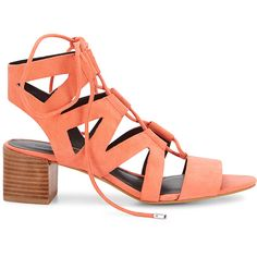 Rebecca Minkoff Issa Sandal (14.235 RUB) ❤ liked on Polyvore featuring shoes, sandals, rebecca minkoff shoes, cut out lace up sandals, low heel shoes, laced sandals and cutout shoes