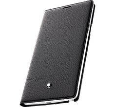 Mont Blanc Soft Grain Classic Leather Cover for Samsung Galaxy Note 4 Samsung Galaxy Smartphone, Samsung Note 3, Galaxy Phone, Cool Technology, Technology Gadgets, Galaxy Note 4 Case, Kids Electronics, Electronic Gifts, Computer Case