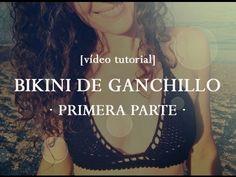 Cómo hacer un bikini de ganchillo [PARTE 1] | How to crochet a bikini - YouTube