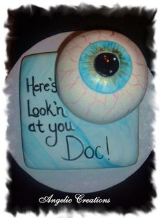 optometrist cake, via Flickr.  angelicreations
