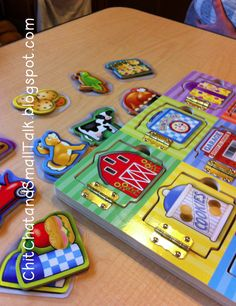 Chit Chat and Small Talk: How I Use This Toy: Wooden Puzzles with Doors