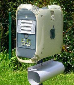 cool techie mailbox