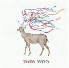Granda by Brodka Album Cover Design, Illustrations, Music Albums, Karaoke, Album Covers, Cool Things To Buy, Moose Art, Songs, Animals