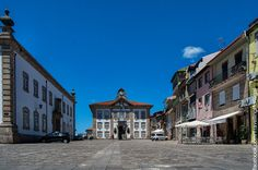 Turismo en Portugal: Plaza Praça de Camoes de Chaves