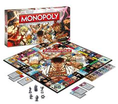 Amazon.com: Monopoly: Street Fighter Collector?s Edition: Toys & Games