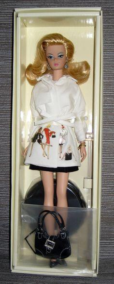 Beautiful Silkstone Trench Setter Barbie Fashion Model Collection | eBay