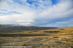 Ribblehead Viaduct in the Yorkshire Dales National Park, North Yorkshire, England