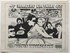 Velvet Underground - 1968 Shrine Los Angeles Concert Poster - Recordmecca