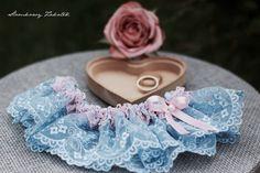 Wedding garter , podwiązka ślubna
