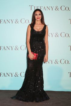 Maria Grazia Cucinotta Photos - Mariagrazia Cucinotta attends Tiffany & Co. celebration of the opening of its new store in Rome at  at Villa Aurelia on May 11, 2016 in Rome, Italy. - Tiffany & Co. Celebrates the Opening of Its New Store in Rome