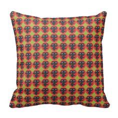 Yes or No man American Throw Pillow