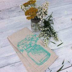 Mason Jar Flower Vas
