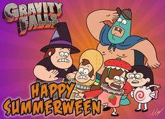 Gravity Falls Happy Summerween!