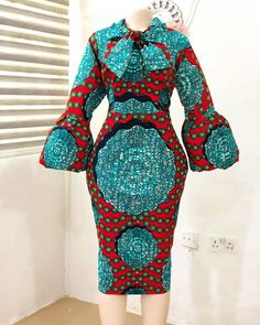 ankara mode Christmas is around the conner and we know is time for our fashion designers to Short African Dresses, Ankara Short Gown Styles, Short Gowns, Latest African Fashion Dresses, African Print Dresses, African Print Fashion, Lace Gown Styles, Trendy Ankara Styles, Ankara Mode