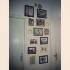 #ColecionandoBoasMemórias na parede!