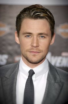 What if Tom Hiddleston and Chris Hemsworth had a son.......