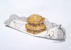 Cheese and Sesame Biscuits